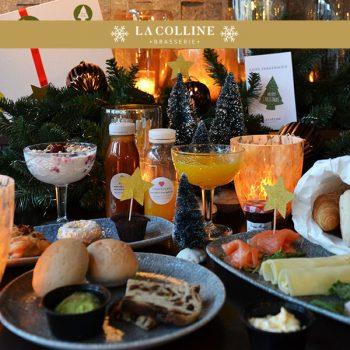 Kerstdiner, kerstbrunch, Oss, Brasserie La Colline